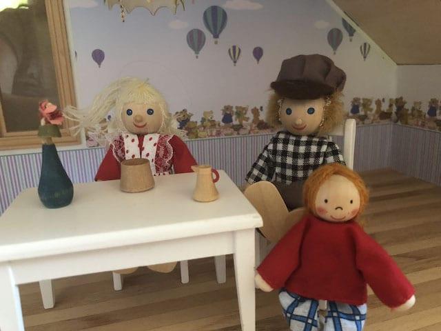 Puppenhaus im Sprechzimmer